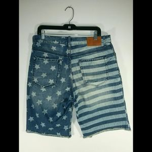 USA Flag Shorts 32